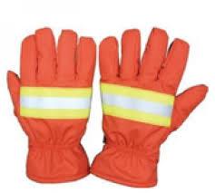 Găng tay chống cháy Nomex màu cam