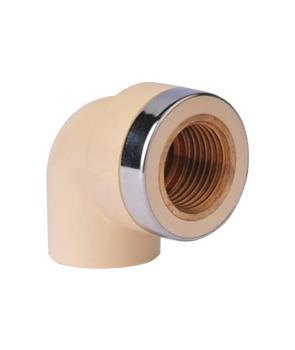 Ống nối Co 90 ren đồng (SxT) SANKING