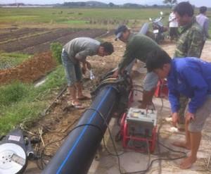 Hướng dẫn sử dụng, đấu nối ống nhựa HDPE luồn cáp đúng kỹ thuật