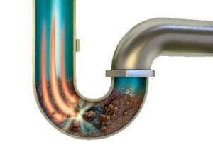 đường ống thoát nước bị tắc