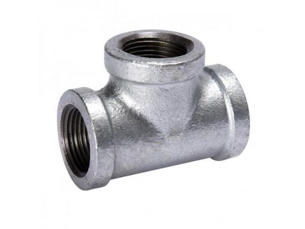Tê ren thép mạ kẽm - Thịnh Thành-ống nhựa - HDPE, PVC, PPR, uPVC