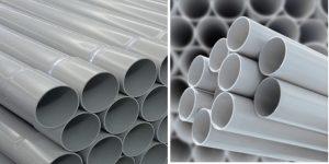 So sánh ống nhựa PVC và uPVC, nên lựa chọn sản phẩm nào?